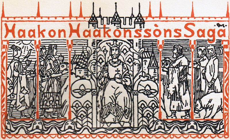 Fil:Titelfrise Haakon Haakonssøns saga.jpg