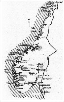 kart over gullfunn i norge Makt og maktsentre i vikingtid og middelalder – heimskringla.no kart over gullfunn i norge