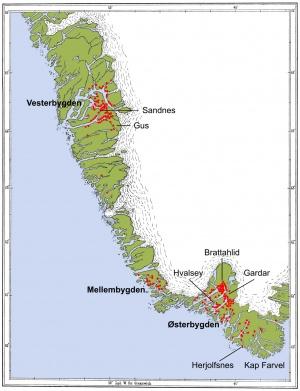 Udsigt Over Gronlands Gamle Geographie Ccr Fm Heimskringla No